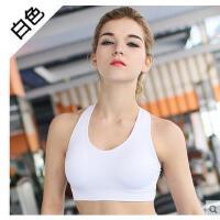 无痕内衣薄款bra女 专业跑步健身运动文胸 无钢圈防震背心式胸罩