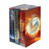 Divergent Series Complete Box Set Book 1-3 分歧者三部曲套装(全3册,国际版