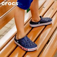 Crocs卡骆驰洞洞鞋 儿童宝宝凉鞋贝雅卡骆班男童凉鞋 205100 贝雅卡骆班小克骆格
