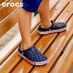 【3折价】Crocs卡骆驰洞洞鞋 儿童宝宝凉鞋贝雅卡骆班男童凉鞋|205100 贝雅卡骆班小克骆格