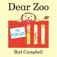 英文原版 The Pop-Up Dear Zoo 亲爱的动物园 立体书