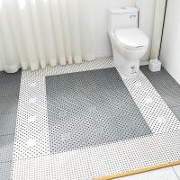 【一件3折】卫浴环保无味拼接地垫 游泳池满铺隔水垫厕所淋浴房浴室防滑垫子