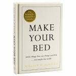 【中商原版】整理你的床铺 小事能改变生活,甚至整个世界 英文原版 人生启示 励志 Make Your Bed 威廉麦克