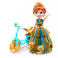 冰雪奇缘迷你系列安娜人偶娃娃