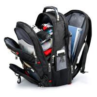 ?双肩包背包商务男运动旅行包旅游帆布书包女大容量电脑包?