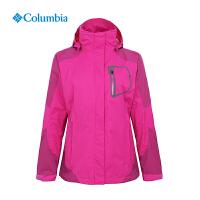 Columbia哥伦比亚户外女士防水热反射单层冲锋衣 PL2974