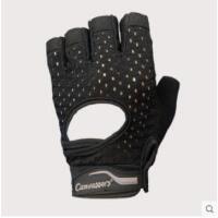 时尚健身手套男女器械训练镂空半指透气护掌护腕防滑运动单车手套瑜伽