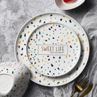 光一早餐餐具网红ins风西餐牛排意大利面盘子碟创意大号餐盘可爱家用