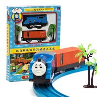奋发托马斯电动轨道小火车套装组合轨道车电动益智男孩儿童玩具
