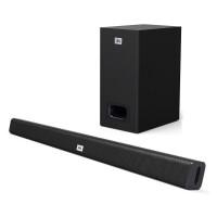 JBL STV125 无线回音壁系统 蓝牙音响 低音炮 Soundbar 条形音箱 家庭影院电视音响
