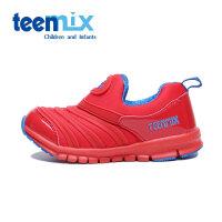 天美意(TEENMIX)童鞋男童女童轻便透气休闲鞋儿童运动鞋DX0220
