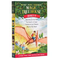【中商原版】神奇树屋1-4盒装 英文原版 Magic Tree House 玛丽・波・奥斯本 儿童探险文学 小说 6-12岁
