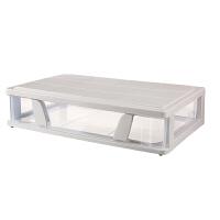 特大号透明床下整理箱床底收纳箱扁平抽屉式收纳盒塑料储物箱清仓 63cmx39cmx14cm