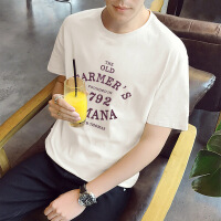夏季新款短袖T恤大码男装