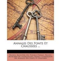 【预订】Annales Des Ponts Et Chausses ... 9781147312775
