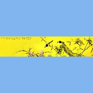 中美协会员,中书协会员,国家一级美术师,中国书画家杂志社艺术总监薛大庸(花鸟)