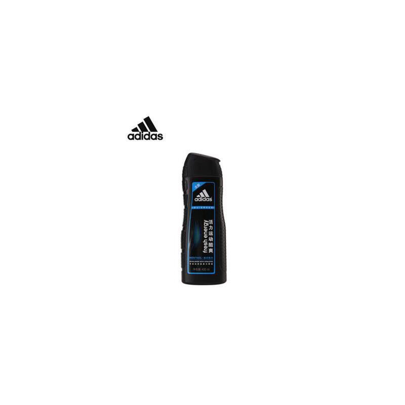 阿迪达斯 adidas 男士洗发水 去屑洗发露系列 活力运动酷爽-薄荷精华-400ml 夏季护肤 防晒补水保湿 可支持礼品卡