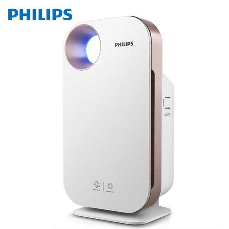 飞利浦(PHILIPS)空气净化器除甲醛 雾霾 PM2.5 过敏原(AC4076升级)京鱼座智能生态产品AC4552/00 触感金属板,LED隐藏数显,APP智能控制,