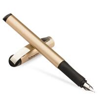 德国进口施耐德(Schneider)钢笔 BK600套装系列玫瑰金色款(F尖+走珠笔头+墨胆+笔盒)学生练字成人商务钢