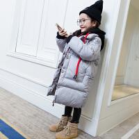 女童棉衣中长款外套2017新款韩版中大童加厚童装女装儿童棉袄潮