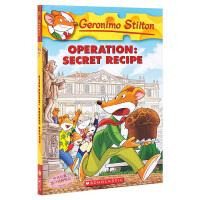 【中商原版】老鼠记者系列66秘密食谱 英文原版Geronimo Stilton #66 学乐儿童小说