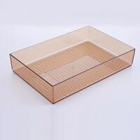 自由组合抽屉收纳盒隔板厨房分格塑料筷子勺子餐具橱柜整理盒