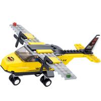 小鲁班  B0360 飞机 航空天地系列 T-教练机 拼插益智玩具