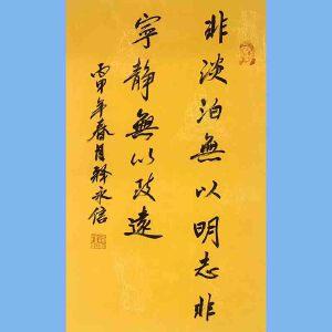 第九十十一十二届全国人大代表,少林寺方丈释永信(非淡泊无以明志)