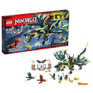 [当当自营]LEGO 乐高 NINJAGO幻影忍者系列 摩罗大师的暗黑巨龙王 积木拼插儿童益智玩具 70736