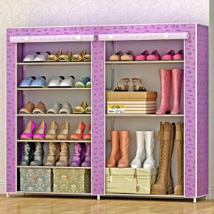 亚思特简易鞋柜鞋架 组装多层收纳防尘鞋架子现代简约0603C
