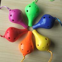 陶笛6孔高音/中音塑胶陶笛树脂AC陶笛初学生儿童乐器