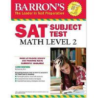 【现货】英文原版 Barron's SAT Subject Test: Math Level 2, 12th Edit