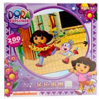 儿童拼图朵拉200片常规拼图卡通动漫纸质平面拼图玩具3-8岁