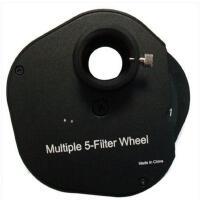 小巧坚固耐磨耐用5片滤镜轮 1.25寸 CCD摄影专用简约精致