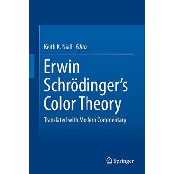 【预订】Erwin Schrodinger's Color Theory: Translated with Modern Co... 9783319646190 美国库房发货,通常付款后3-5周到货!