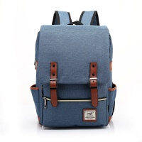 男女韩版学生电脑双肩包15.6寸14手提笔记本包旅行商务背包电脑包