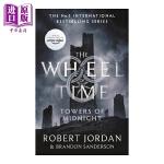 【中商原版】Wheel of Time #13:Towers Of Midnight 英文原版 英文小说 科幻小说 时