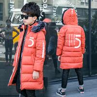 10男童羽绒12大童加厚棉衣儿童中长款棉袄13男孩装外套15岁