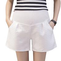孕妇裤孕妇短裤秋外穿2018新款潮妈怀孕期阔腿打底裤子夏季春装