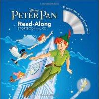 英文原版 儿童有声读物 彼得潘 PETER PAN READ-ALONG STORYBOOK AND CD