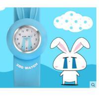 跑步运动个性    儿童玩具拍拍表防水石英果冻表   小学生女孩女童啪啪圈手表