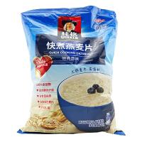 桂格(QUAKER) 快煮燕麦片 经典原味 1000g 袋装 粗粮谷物 煮粥燕麦