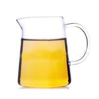 普润 玻璃茶具 茶海公道杯 玻璃茶杯 玻璃杯茶道茶叶 260ML大号功夫茶具茶漏套装公杯分茶