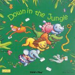 英文原版 Down in the Jungle 廖彩杏书单推荐 走进丛林纸板书 Child's Play系列