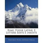 【预订】Rime, Poesie Latine, E Lettere Edite E Inedite 97811424