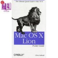 【中商海外直订】Mac OS X Lion Pocket Guide