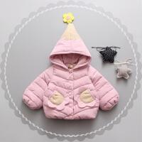 童装女童2017新款装小童加厚外套女宝宝韩版羽绒棉棉衣棉袄
