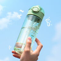 bianli�集大容量塑料杯吸管杯男女�W生便�y�\�铀�杯�S身杯子�Э潭忍岘h650MLA15270