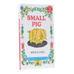 顺丰发货 汪培�E推荐第二阶段英文原版书单 An I Can Read,Level 2 Small Pig小猪 送音频