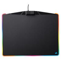 美商海盗船(USCorsair)Gaming系列 MM800 游戏鼠标垫 RGB幻彩背光 黑色 MM800硬树脂表面